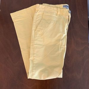 Yellow Express photographer pants 30/30